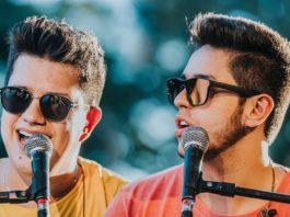 Vovozinho Hugo e Guilherme